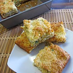 Onion and Cheese Quick Bread
