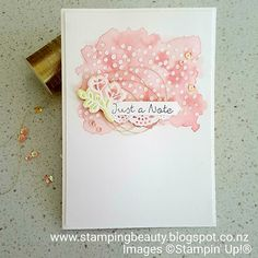 Stamping Beauty: PETAL PALETTE THANK YOU CARD: ALL STAR TUTORIAL BUNDLE BLOG HOP