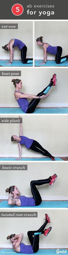 5 Killer Moves for Yoga Ready Abs