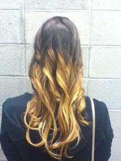 Ombré hair by: social beauty to go