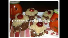 Cheese Nutella sandwich recipe I Children's Day Special recipe I  Easy s...