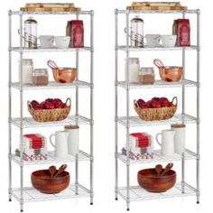 Work Choice 6-shelf Commercial Wire Shelving Convertible Rack Just $28.97 Down From $49.00!