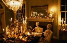 Image Detail for - Halloween Living Room Decorating Ideas 588x380 Halloween Living Room ...