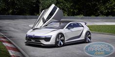 Volkswagen Golf Sport GTE Concept Car Hybrid. Fotos de divulgação.