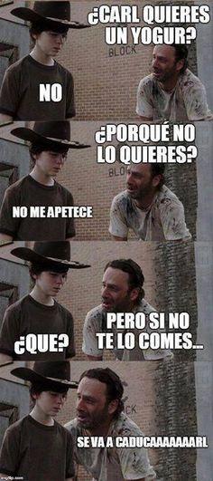 Meme nuevo de Walking Dead, te vas a reir.