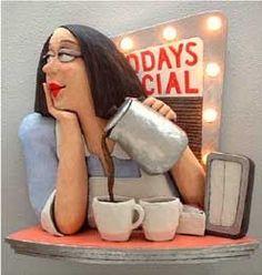 Modern Art Gallery & Paintings in Washington DC Paper Mache Clay, Paper Mache Sculpture, Paper Mache Crafts, Clay Art, Sculpture Art, Sculpture Ideas, Paperclay, Art Dolls, Biscuit