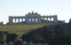 Gloriette Beautiful Sites, Vienna, Taj Mahal, Louvre, City, Building, Travel, Viajes, Buildings