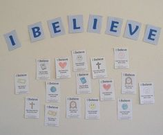 If we say we believe the Bible, there are certain truths we must believe. Children need to know what the Bible teaches us to believe. This activity would be appropriate for any lesson about believi...