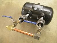 DIY Knifemaker's Info Center: Gas Forge Build 5: Intial Burn