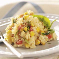 Tomato 'n' Corn Risotto