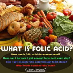 What is folic acid? #women #folicacid #health #nutrition