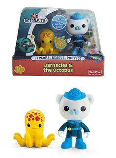Octonauts toys 1 - Captain Barnacles bear and the octopus