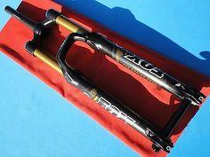 """FOX TALAS FORK KASHIMA 36 FIT RLC 120-160 SHOCKS 20 mm SHOX TAPERED 26"""" MTB RACE"""
