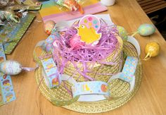 Easter bonnet design children can make themselves