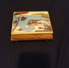 Music Jewelry Trinket  Box Music Box Song by LuisBlindFinds