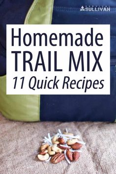 These trail mix recipes are calorically dense, perfect for when you're on the move and need extra calories, while keeping your backpack light. #hiking #outdoors #bushcraft #recipe Best Survival Food, Wine Chart, Homemade Trail Mix, Trail Mix Recipes, Quick Recipes, Bushcraft, Snacks, Backpack, Cooking