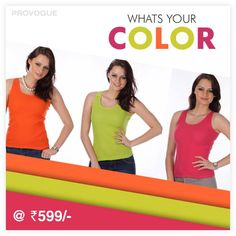 Which color would you prefer ? #yourstyle Get these at Flat Rs. 599/- www.provogue.com