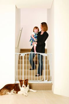 Baby Safety Gate Pet Infant Child Stable Adjustable Steel One Handed Easy Fence Best Baby Gates, Retractable Baby Gate, Safety Gates For Stairs, Security Gates, Space Up, Play Yard, Baby Swings, Dream Baby, Convertible Crib