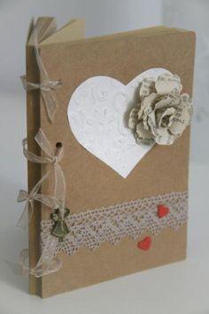 libreta personalizada elisa libreta_elisa papel y cartón,tela,metal scrapbooking