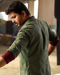 Image may contain: 1 person, beard and outdoor Actor Picture, Actor Photo, Mersal Vijay, Best Love Images, Famous Indian Actors, Samantha Photos, Vijay Actor, Banner Background Images, Bollywood Couples