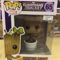 """Dancing Groot funko Pop bobble head funko pop #guardiansofthegalaxy #iamgroot #groot #babygroot #funko pop Like this? I'm selling it on @depopmarket. Search for me: diversions on #depop ✌ "" Photo taken by @diversionsgifts.co.uk on Instagram, pinned via the InstaPin iOS App! http://www.instapinapp.com (07/17/2015)"