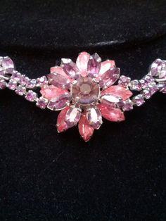 Stunning Vintage Pink and Purple Floral by VansVintageTreasures, $49.00