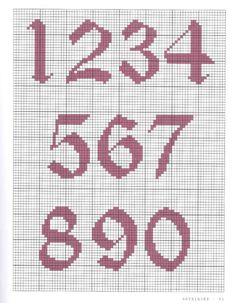 Cross Stitch Letter Patterns, Cross Stitch Numbers, Cat Cross Stitches, Cross Stitch Letters, Cross Stitch Cards, Cross Stitch Designs, Cross Stitching, Cross Stitch Embroidery, Stitch Patterns