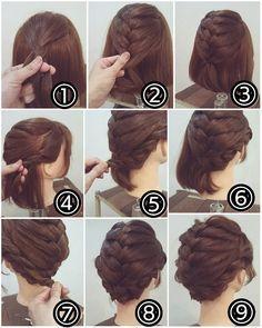 Short to medium hair? You can still braid!