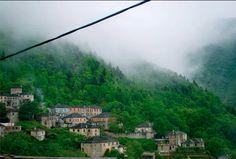 GREECE CHANNEL | Foggy mountains in Dikorfo, Greece