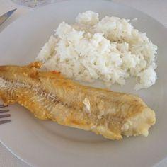 Filet de merlan frit et riz blanc, Recette de Filet de merlan frit et riz blanc par Marie.Emie - Food Reporter