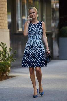 Nicky Hilton wearing Manolo Blahnik Hangisi Pumps #manoloblahnikhangisi
