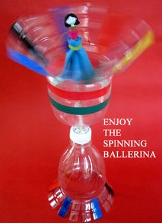Make a spinning ballerina