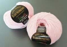 A 'supreme' yarn for baby projects !!!