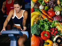 Clean eating and exercise