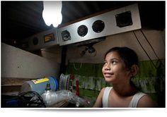 Turning waste plastic bottles into solar lightbulbs - kilocollective