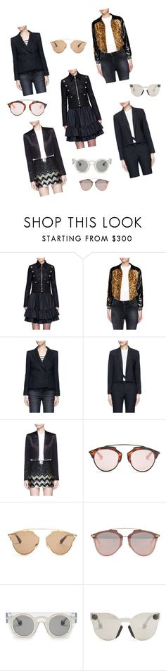 """Casual Jackets For Women.."" by yagna ❤ liked on Polyvore featuring Givenchy, Hillier Bartley, Blazé Milano, Helmut Lang, Alice + Olivia, Christian Dior, Christopher Kane and vintage"