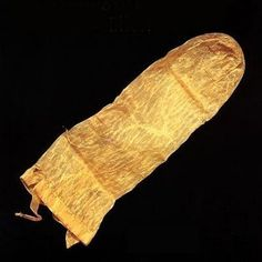 Voici un préservatif intéressant, il date de 1640