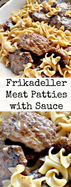 Frikadeller Meat Pat