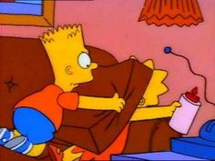 """"""" """"Ah, Cranberry sauce a-la Bart!"""" Lisa kissing Bart after accepting his apology Cartoon Memes, Cartoon Pics, Funny Memes, Cartoon Profile Pictures, Wallpaper Iphone Cute, The Simpsons, Best Shows Ever, Reaction Pictures, Wall Collage"""
