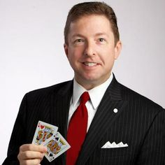 Joe Turner is an award-winning corporate magician who also specializes in providing entertainment for private parties. He does sleight-of-hand, para-psychological demonstrations and more. Click this pin to get a free quote.