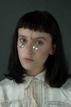 Jewellery For The Face by Akiko Shinzato | Yellowtrace