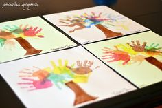 Super easy fall craft for kids and memory for mom!