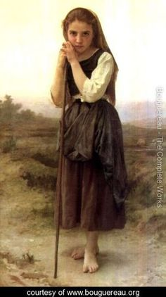 the shepherdess painting - Google Search