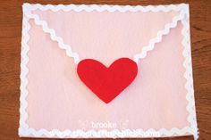 I want to do this!  Tutorial for the Valentine heart envelopes from Pottery Barn. Sweet idea for kids--write a note (beginning Feb. 1) for each child about why you love him/her and put it in this envelope.