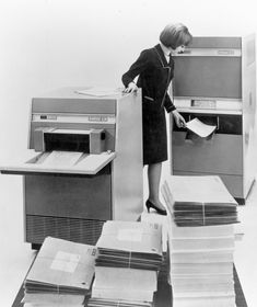 Xerox LDX (The First System for High-speed Document Fax Transmission), 1964