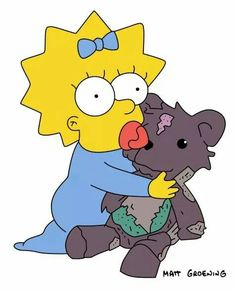 porn maggie Bart and simpson