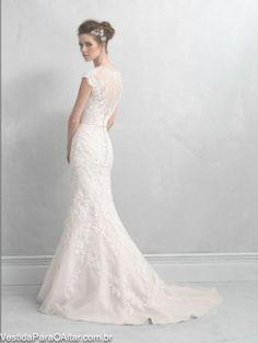 Vestido de Noiva Angel Mermaid