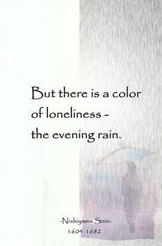 #Zen#Haiku#Rain