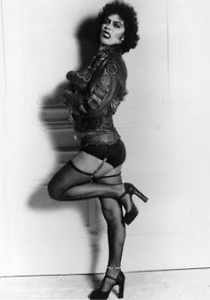 Rocky Horror Picture Show..If only I could walk like Tim Curry did in those shoes!
