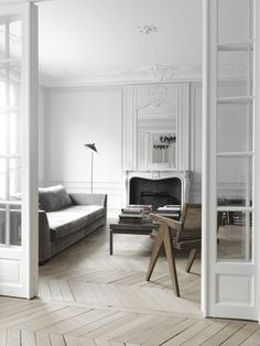 Fireplaces, Parquet, Arches, French Doors: Traditional Features in Modern Spaces